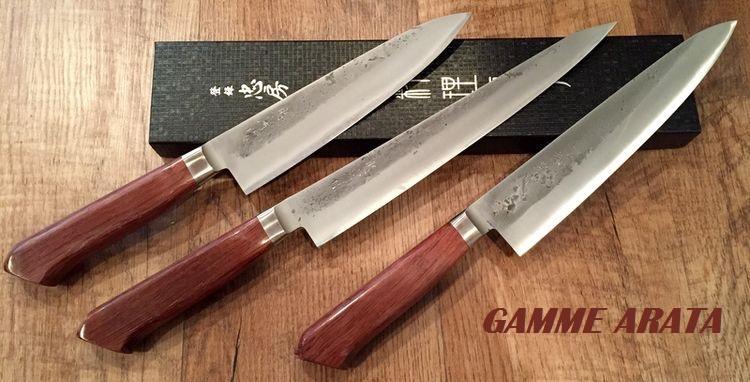 Couteaux De Cuisine Japonais Tadafusa