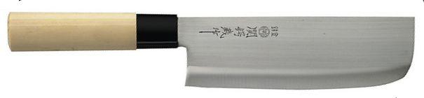 couteau japonais jaku tradition usuba de 17 cm. Black Bedroom Furniture Sets. Home Design Ideas