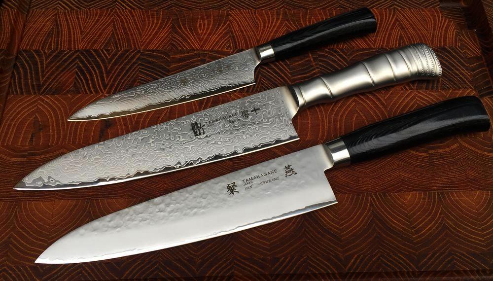 les couteaux de cuisine japonais tamahagane. Black Bedroom Furniture Sets. Home Design Ideas