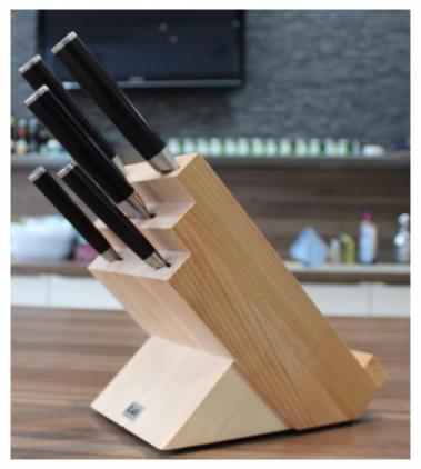 blocs de rangement de couteaux de cuisine. Black Bedroom Furniture Sets. Home Design Ideas