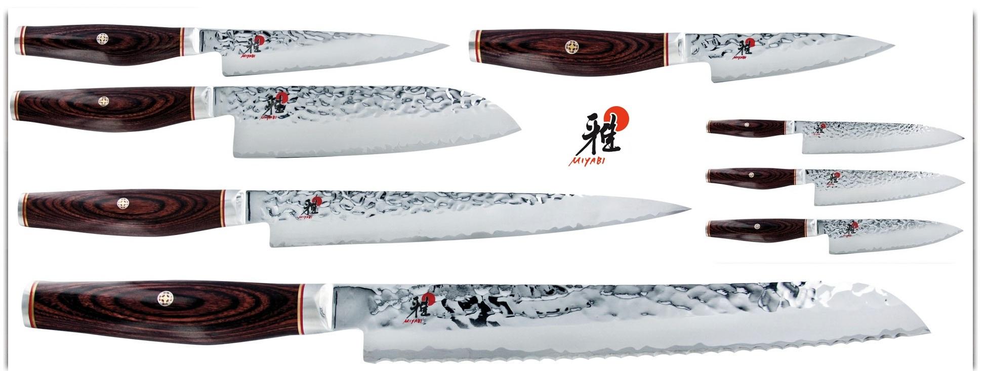 Offre gamme de couteaux japonais miyabi 6000mct - Couteau de cuisine professionnel japonais ...