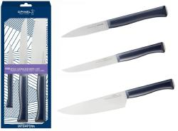 COFFRET TRIO DE COUTEAU DE CUISINE OPINEL COLLECTION INTEMPORA