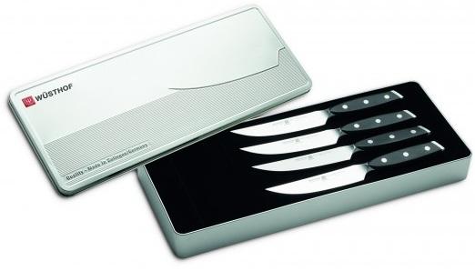 coffret de 4 couteaux a steak x line wusthof. Black Bedroom Furniture Sets. Home Design Ideas
