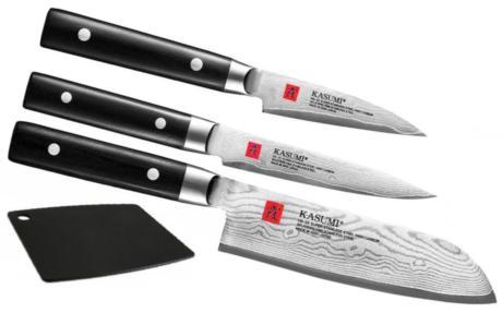 Set 3 Couteaux De Cuisine Japonais Kasumi Standard Forme