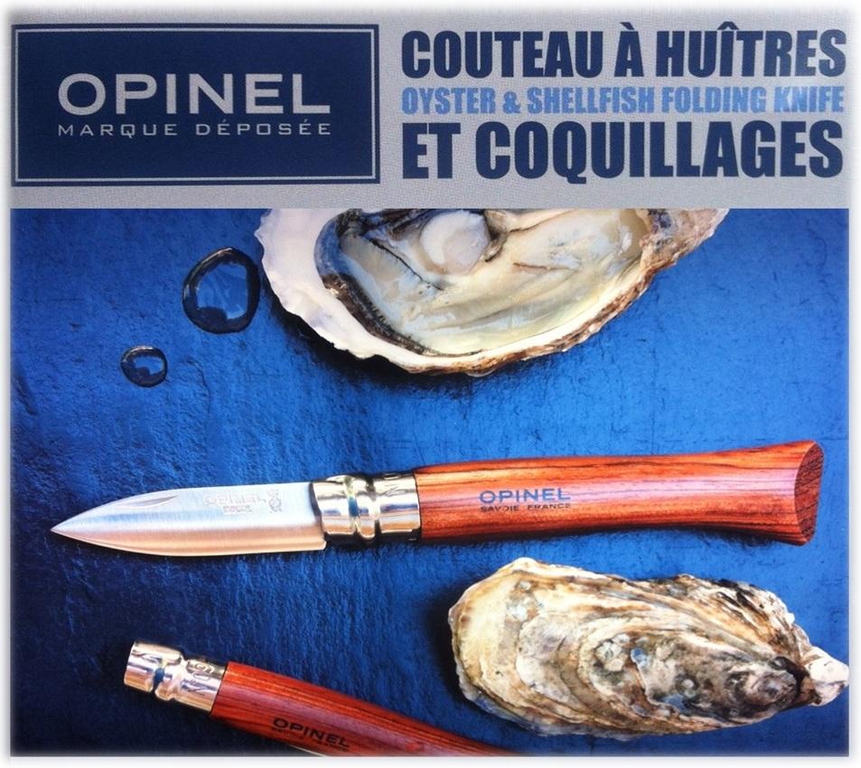 Couteau opinel a huitres et coquillages - Couteau de cuisine opinel ...